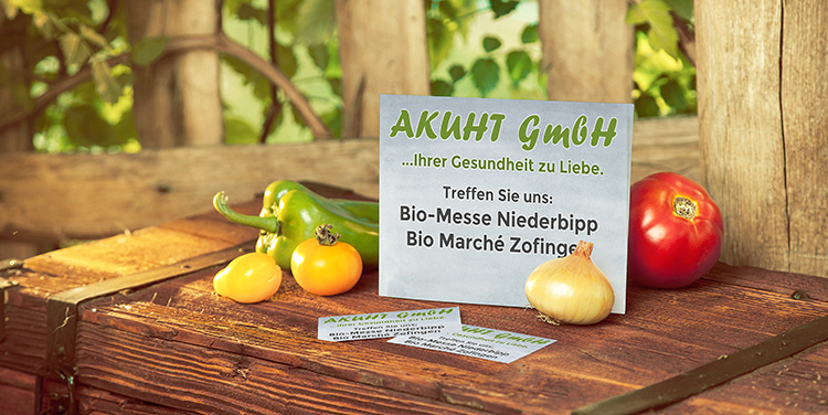 Akuht auf Bio Märkten 2017