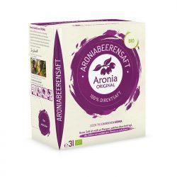 Aroniasaft Bio in 3 Liter Box