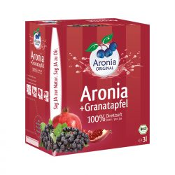 Aroniasaft & Granatapfelsaft 3 Liter Box