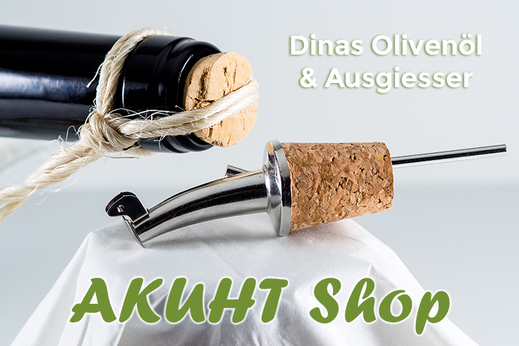 Neu - DINAS Olivenöl jetzt bestellbar!