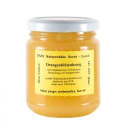 Orangenblütenhonig von DINAS (290g Glas)