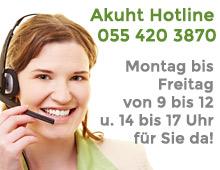 Akuht Hotline 055 420 3870