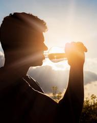 Wasser - auch für Männer :-)