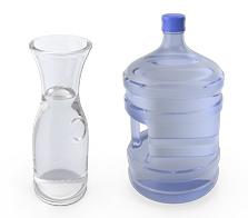 Es gibt Unterschiede beim Trinkwasser