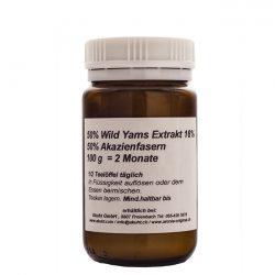 Pulver: Wild Yams Akazienfasern 100g