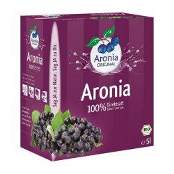 Aroniasaft Bio 5 Liter Box