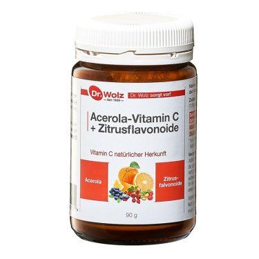 Dr. Wolz Acerola Vitamin C + Bioflavonoide (Packshot)