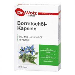 Borretschöl-Kapseln Dr. Wolz Packshot