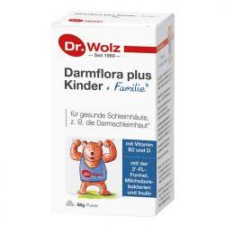 Dr. Wolz Darmflora plus Kinder + Familie Packshot