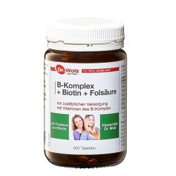 Dr. Wolz B-Komplex + Biotin + Folsäure Hefetabletten