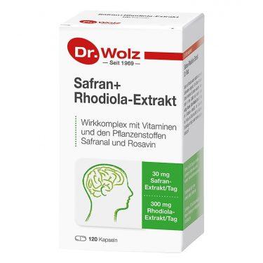 Dr. Wolz Safran+Rhodiola-Extrakt Packshot