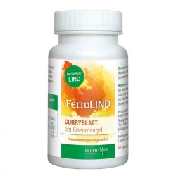 FerroLIND Nahrungsergänzung - 60 Kapseln (Packshot)