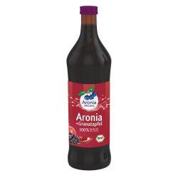 Granatapfel und Aroniasaft in 07lt. Flasche