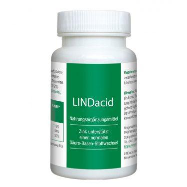 LINDAcid Nahrungsergänzung - Packshot